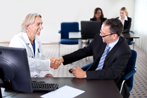 Physician coming to Agreement with Insurance Representative